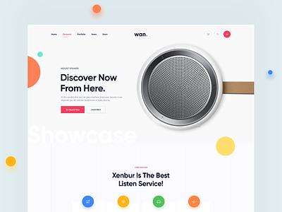 Product Showcase website minimal product showcase footer header showcase landingpage ux ui product app product showcase
