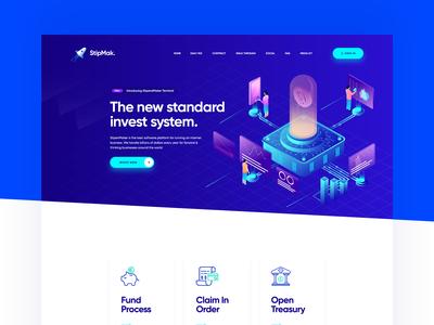 Cryptocurrency Investment Platform Website