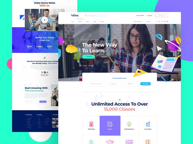 eDus LMS Online Education Platform