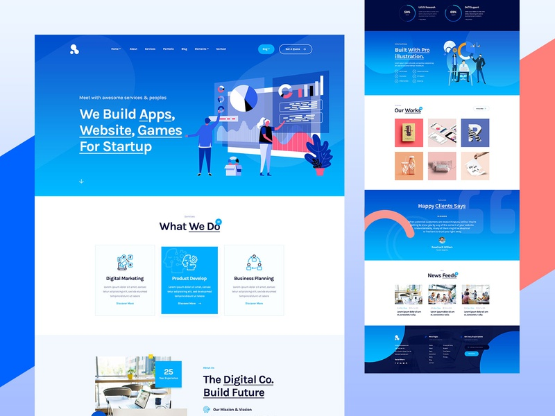 Alvon Digital Agency Website Design