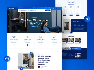 Gairol Coworking & Creative Space Website Design