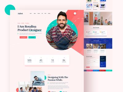 Aabot Creative Portfolio/CV/Bio Website