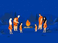 Heating - animated illustration