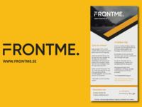 FRONTME Flyer Design