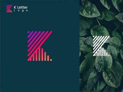 K letter mark-Logo Design brand identity k letter mark logo k logo trends 2020 gradient logo flat designs typography branding conceptual logo meaningful logo digitaldesign sketch graphic flat design minimal logo creative vector logo inspiration brand logo icon