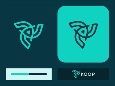 Koop Logo Design typography logo designer illustration brand guide brand identity conceptual logo logo trends 2020 meaningful logo designlife branding digitaldesign sketch graphic flat design minimal logo vector logo inspiration creative brand logo icon