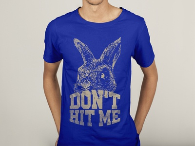 Rabbit T-shirt design