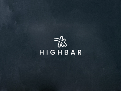 Highbar logo design
