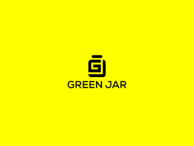 Green jar logo design