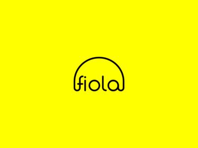 Fiola logo design