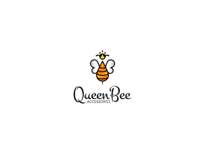 Queen Bee logo design