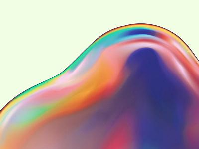 Opal Gravy 001 design wallpaper color colour vibrant abstract illustration