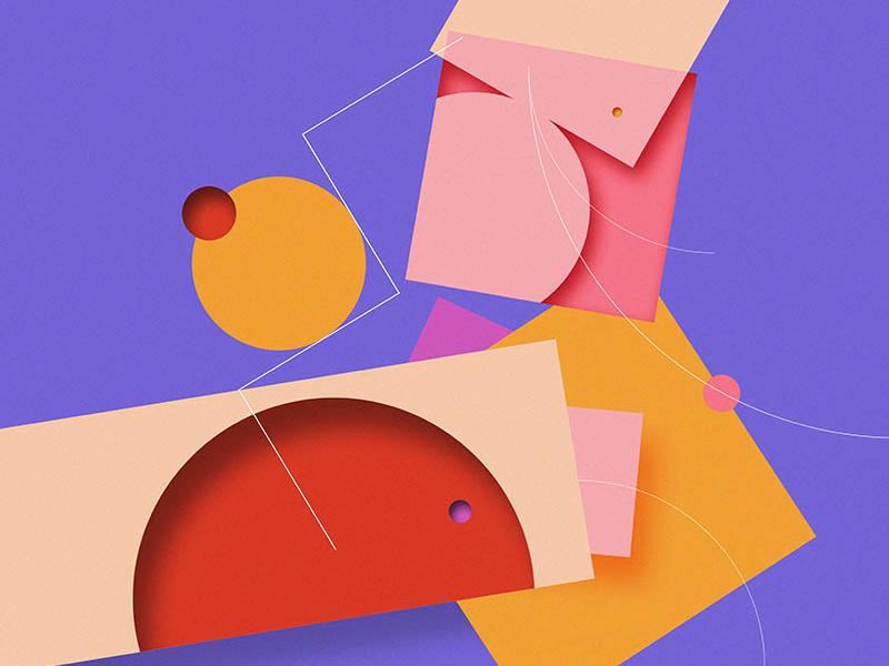 Opal Gravy 033 design wallpaper vibrant color colour illustration abstract