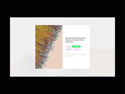Opal Gravy Redesign – Download Modal popup modal download website web wallpaper vibrant ui  ux ui lettering illustration identity abstract design colour abstract colors branding abstract