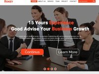 Rokey :Business &Corporate Web Templeat