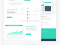 Athletitrack Landing Page Detail