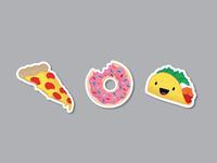 Sticker Trio