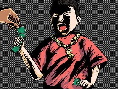 Eazy Munney brand music merchandise covers cover artwork cover typography charachter hello dribbble cover design branding illustration graphic design graphic artist artworks illustrator design
