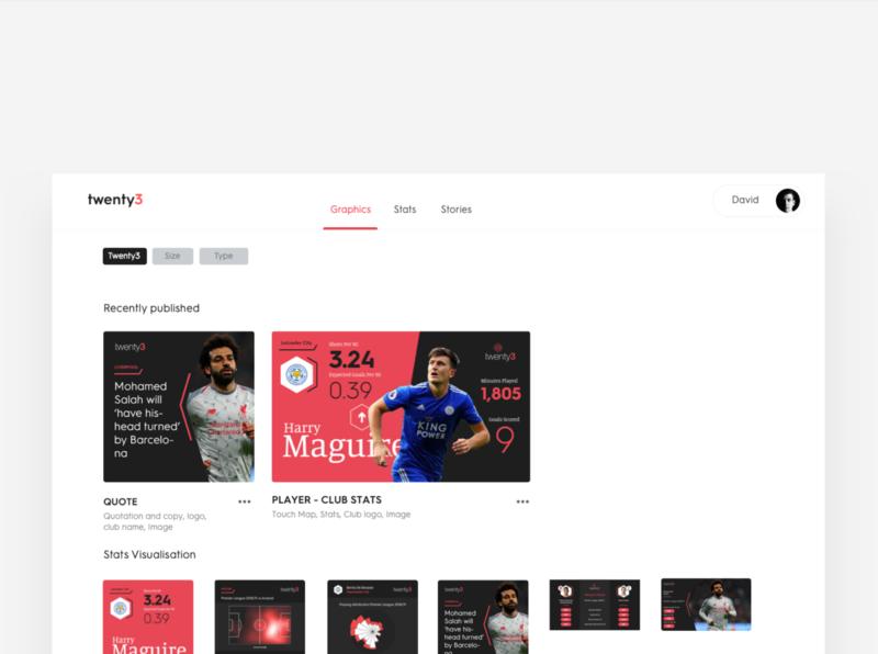 Twenty 3 ux ui vuejs web app