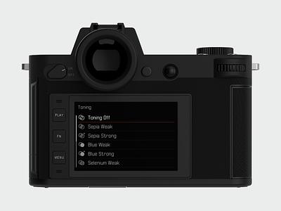 Leica SL - 2 ui camera