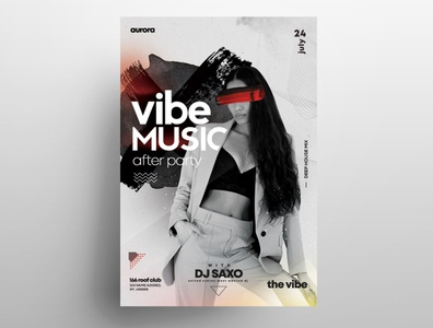 After Party Free PSD Flyer Template white flyers event flyer print template print template free psd flyer freebie flyer psdflyer flyer design poster design poster flyer