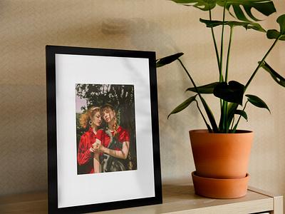 Picture Frame Free Mockup mockup design gallery picture psd mockup freemockup mockups