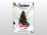 Christmas Celebration - Free PSD Flyer Template