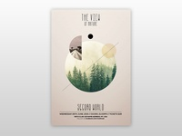 The View - Free Minimal PSD Flyer Template