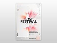 Color Festival Free PSD Flyer Template