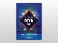2019 NYE Eve Free PSD Flyer