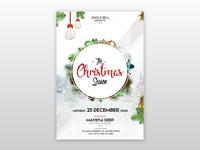 The Christmas Season - Free PSD Flyer
