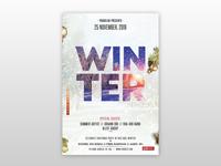 Winter Season – Free PSD Flyer Template