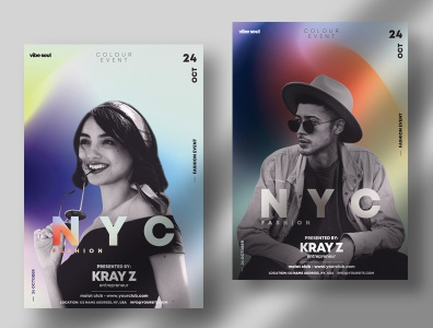NYC Fashion PSD Flyer Template fashion flyer templates psd flyers psd flyer event minimal clean creative flyer creative posters flyer design poster flyer