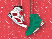 Jordan 6 Christmas