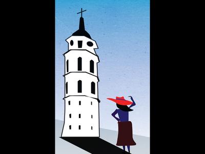 Vilnius Illustration