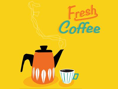Fresh Coffee illustration