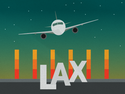 LAX Illustration For Map