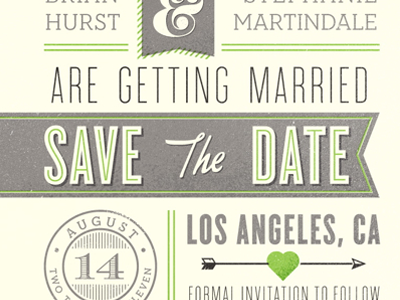 Save the Date save the date wedding cyclone neutraface