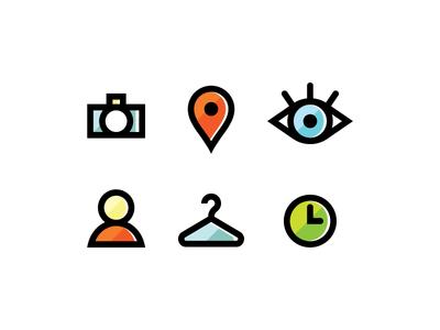 Photoshoot Icons