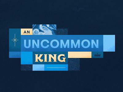 An Uncommon King V.2 crown baby jesus holiday vibes christmas