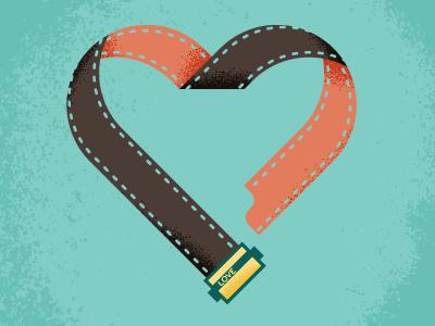 WIP love heart valentine film camera vintage retro texture