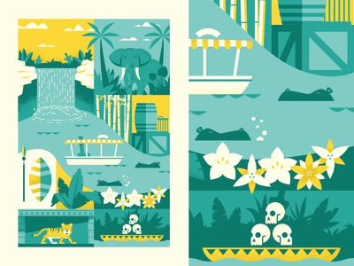 Jungle Cruise Designs Themes Templates And Downloadable Graphic Elements On Dribbble