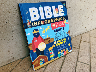 Bible Infographics kids bible info graphic design illustration