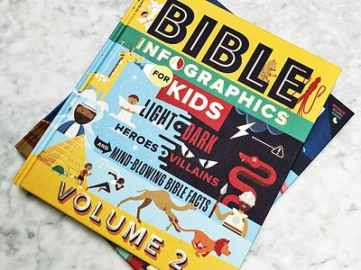 Bible Infographics for Kids V.2 childrens app kids book illustraion infographic bible