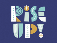 Rise Up Lettering