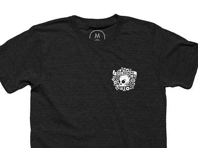 Still Growing Shirts t-shirt cotton bureau apparel illustration flowers wreath skull