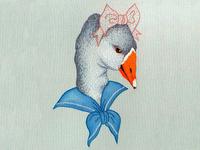 Girl Goose