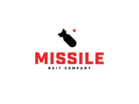Missile Baits Rebrand brand design bomb missile shirt design shirt rebrand brand identity apparel hat brand typography vector fishing mark design branding icon badge logo type