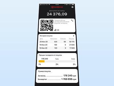 Discount app for Korzinka.uz • Cards flying aftereffects animation ios app design discount ios app