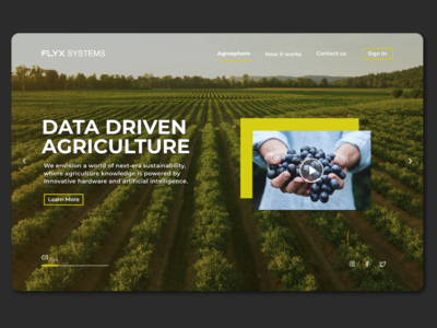 Fly X Systems Landing Page